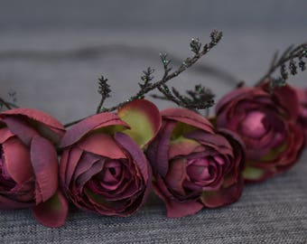 Dark Rose Crown