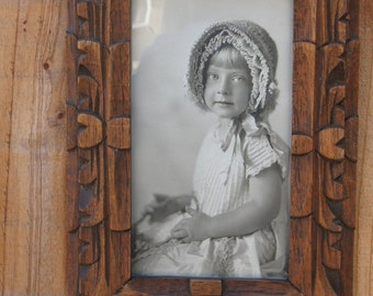 Vintage Photo Blonde little girl