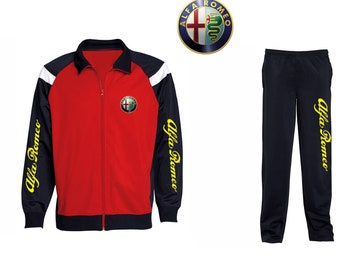 Alfa Romeo Tracksuit Stylish Two – Toned