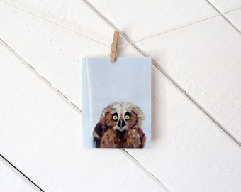 Owl - Greeting Card - Blank Inside with matching white envelope