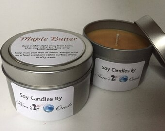 Maple Butter 4oz Soy Candle