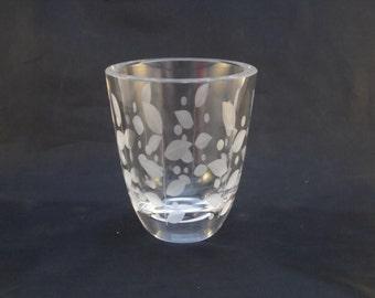Orrefors Leaf Pattern Vase Pattern No. 2526/3