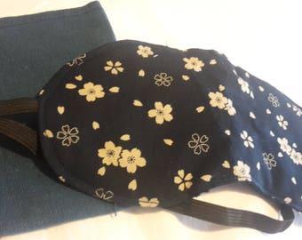 Japanese fabric eye mask, travel eye ask, sleeping mask