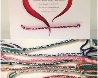 Parent and child matching bracelets