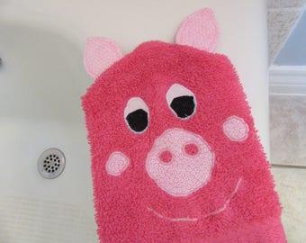 Pig Bath Mitt Puppet