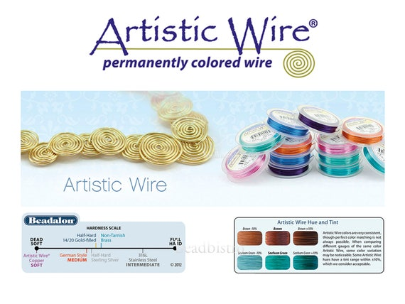 SILVER Artistic Wire Tarnish Resistant Silver Plated Craft