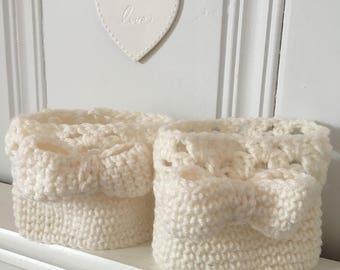 Custom handmade crochet Boot Cuffs