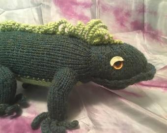 Ohitsaniguana Iguana Stuffed Toy