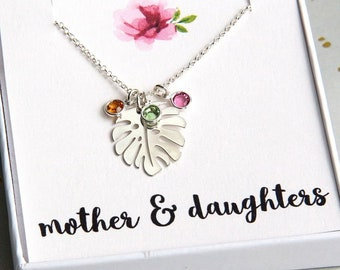 Mother Necklace, Mother Gift, Personalized Necklace, Necklace For Mom, Custom Necklace, Personalized Jewelry, Family Necklace, Nana Necklace