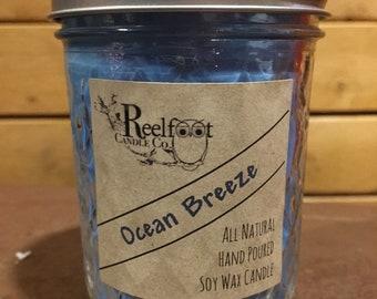 Ocean Breeze - Soy Wax Candle