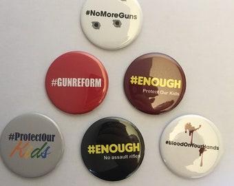 March for Our Lives button collectors Set 1 (GNCON-SET-1)