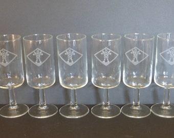 Robot Stemware/ Wine /Beer Glasses - Set of Six