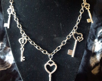 5 Key Chain Necklace