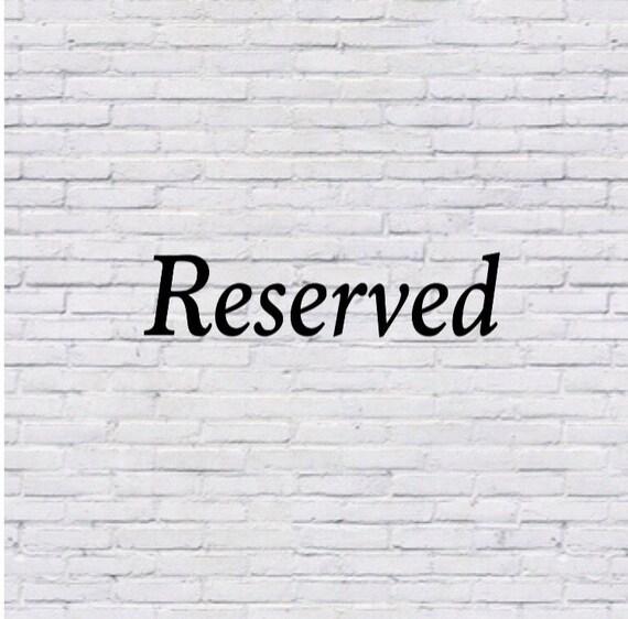 Reserved for soprettygems