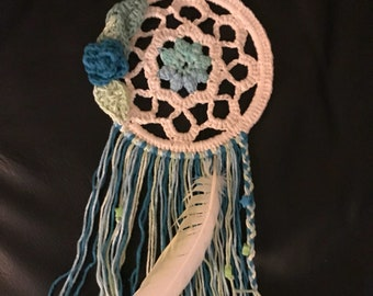 Blues and Greens Dream catcher