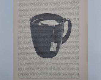 Vintage Tea Print