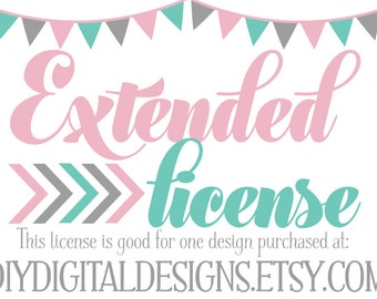 No Credit License - Commercial Use License - Extended License - No Credit Required