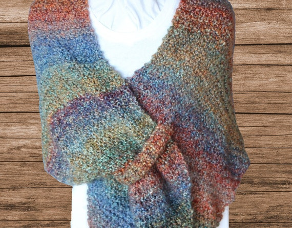 Knitting Pattern for Shawl, Easy to Knit Shawl Pattern, Prayer Shawl ...