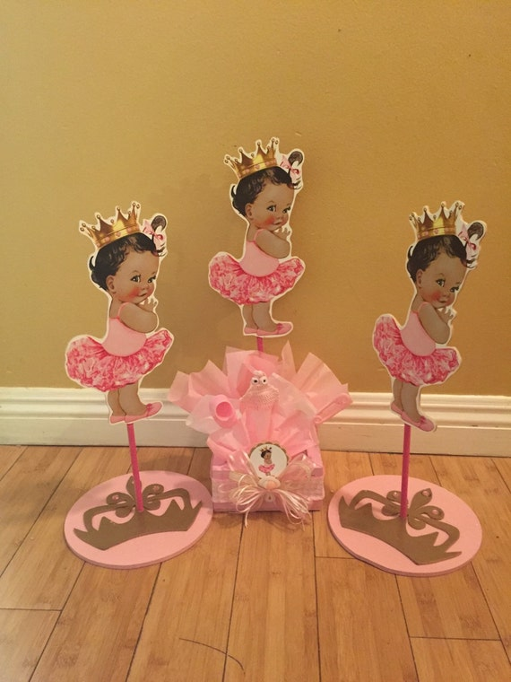 Ballerina Box Baby Shower Centerpiece Baby Shower