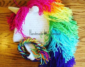 Rainbow Unicorn Hat