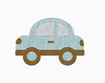 INSTANT DOWNLOAD Car embroidery design