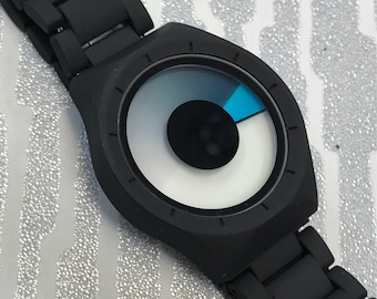 Modern Eclipse Watch Aqua By Softech London
