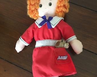 Vintage Annie Rag Doll