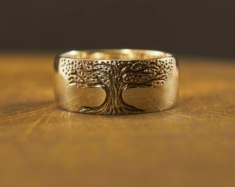 Silver Tree Ring, Tree Wedding Ring, Tree of Life Ring, Woodland Ring, Family Tree Ring, Tree Ring Jewelry, Nature Ring, Twig, Tree Branch