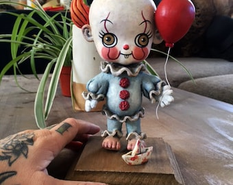 Kewpie Pennywise Art Sculpture - LIMITED EDITION