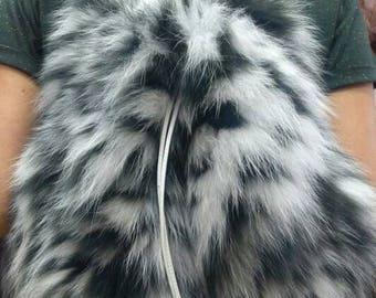 Backpack Fox!New and Natural,Real Fur Bag!