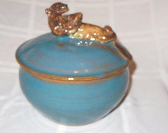 Sea Otter Jar