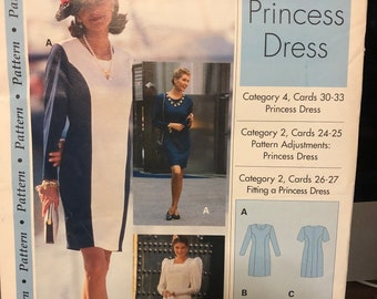 5 Sewing Step-by-Step dress patterns - sold individually - uncut - no cards