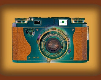 Vintage Camera Art - Konirapid
