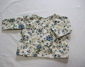 Exclusive printed cotton baby shirt