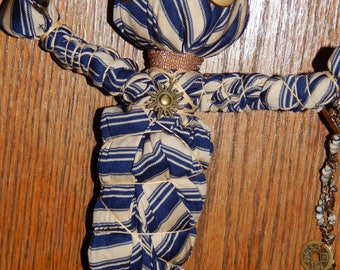 Everything is Business Juju Doll - Voodoo Dolls - Voodoo Fetch - Vodou - Folk Art Doll - Voodoo Supplies - Occult Art - Witchcraft Doll