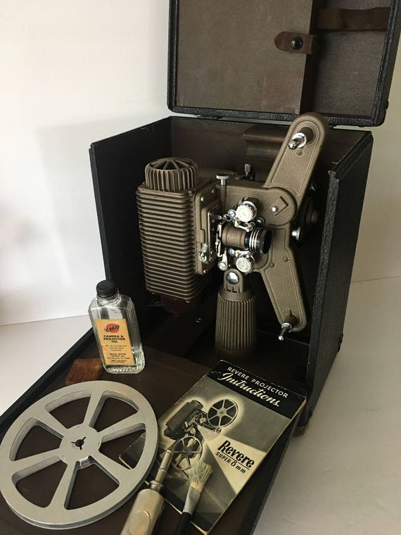 Revere 80 Home Movie Projector 8mm 1941 Storage Case With