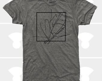 Men Abstract Box Tshirt  | Gift for Men  |Gift for Boyfriend |Gift for Son | Gift for Dad | Universe | Peace | Inspirational Art | Zen