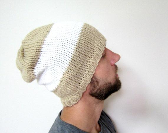 Mens gestreiften Hut Slouchy Beanie stricken für Jungs Hüte