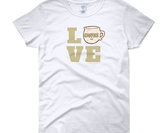 Women's Coffee Love short sleeve t-shirt
