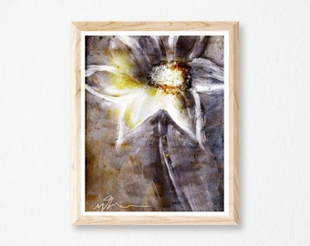 Swoon Print, Christian Wall Art Decor, Wall Images, Religious Gift, God Inspired, Floral Print, Flowers, Holy Spirit, Gifts and Paper Art