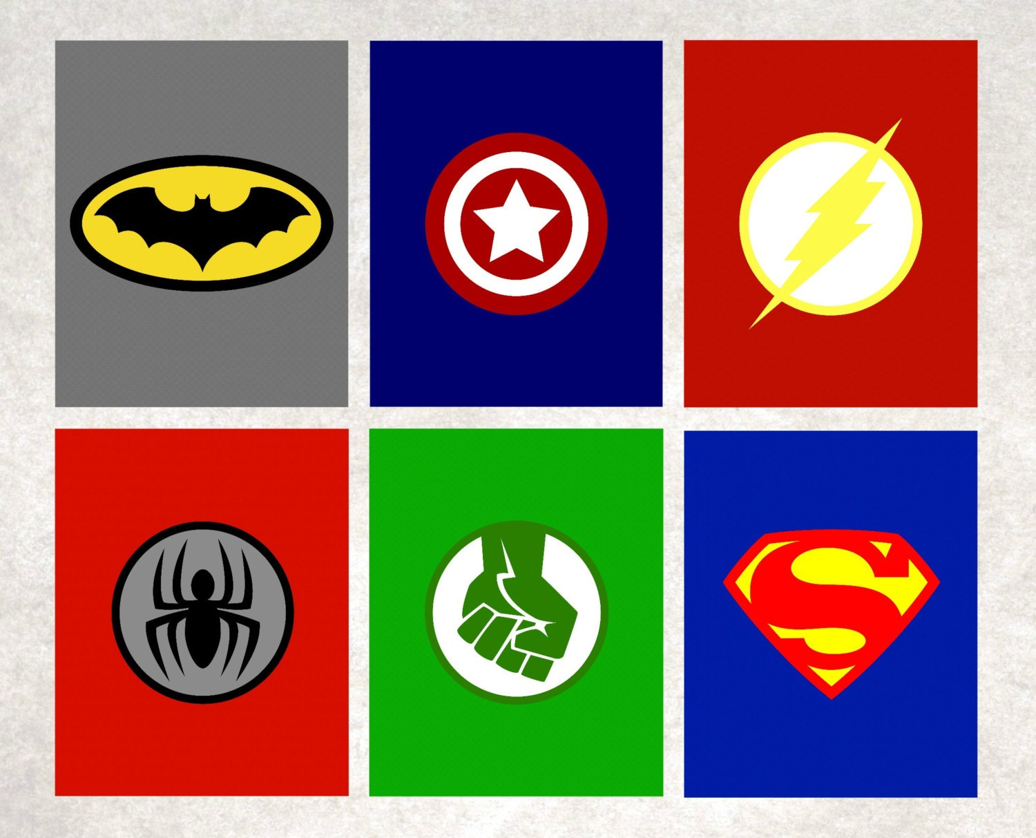 It is a picture of Candid Superhero Logos Printable