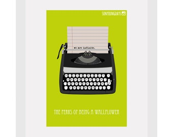 the perks of being a wallflower movie poster postcard 4'X6'