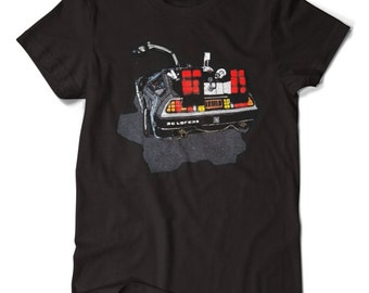 Back to the Future Delorean Time Machine T-shirt