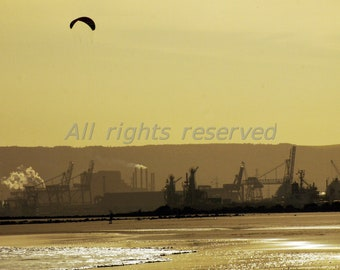 River Tees Redcar Printable Photograph Instant Download 12mp image #7