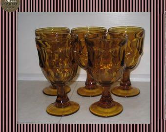Vintage Libbey Ashburton  Water Glass-1982