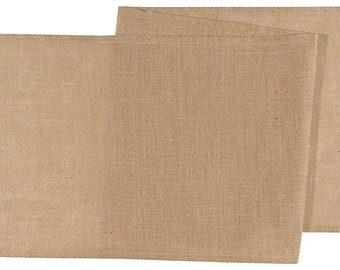 Zen Creative Designs® Classic Burlap Table Top Runner / Natural Burlap / Event / Wedding / Decor