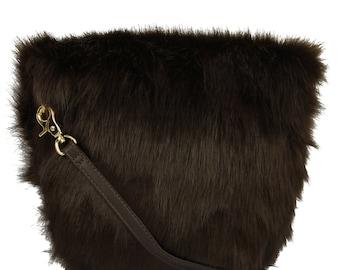 Fur Crossbody Bag - Summer Bag