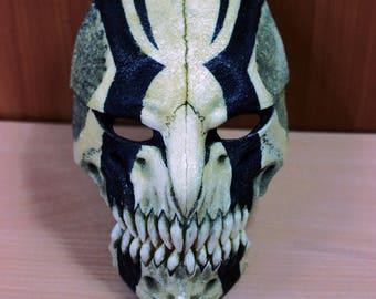 """Mask """"Ichigo Kurosaki """" Bleach black strips"""