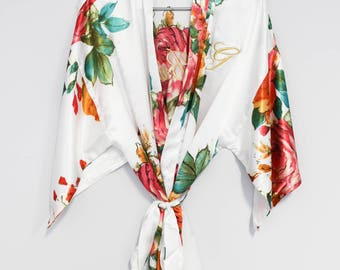 Bridal Robes Rustic, Bridal Robe Purple, Bridal Robe Navy, Bridal Robe Coral, Bridal Robe White, Bridal Robe Pink, Bridesmaid Robes