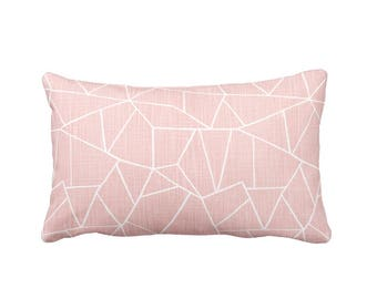 11 Sizes Available: Blush Pink Pillow Cover Pink Throw Pillow Cover Pink Lumbar Pillows Decorative Pillows for Dorm Pillows Blush Decor